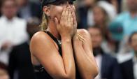 María Sharapova regresó de la mejor manera a un Grand Slam. Foto: AFP