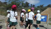 El parque tiene tours para familias, escuelas y liceos. Foto: gentileza Alejandro Espina