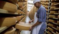 Quesos: pueden tener otra salida comercial en el mercado ruso. Foto: AFP