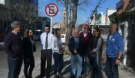 La nueva prohibición de estacionar va desde Br. Artigas hasta la rambla. Foto: M. Bonjour