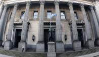 Sede del Banco República (BROU). Foto: Marcelo Bonjour