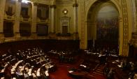 Parlamento: delegación de diputados y senadores fue invitada a viajar a EEUU. Foto: G. Pérez