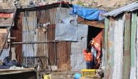 Pobreza afecta a 13 de cada 100 montevideanos. Foto: M. Bonjour