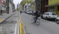 La comuna proyecta nueva infraestructura para los ciclistas de Montevideo. Foto: A. Colmegna