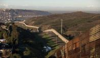 La frontera entre México y EE.UU. tiene 3.200 kilómetros. Foto: AFP