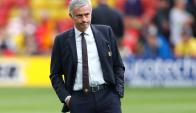 José Mourinho no encuentra el rumbo en Manchester United. Foto: AFP