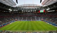 San Petersburgo: el estadio fue el escenario de la final de la Copa Confederaciones. Foto: Reuters