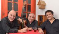 Vino y teatro: Caldarelli, Félix y Rodríguez a puro humor. Foto: Difusión
