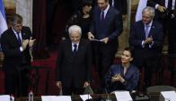 Mattarella: el presidente italiano se reunirá hoy con Vázquez. Foto: EFE