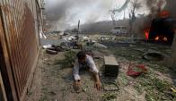 Atentado en Afganistán. Foto: Reuters