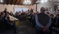 Cientos de militares retirados militares se reunieron en varias oportunidades. Foto: F.  Ponzetto