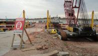 El presidente de Gas Sayago no confirmó cuándo se retomará la construcción.