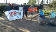 Trabajadores de Citrícola Salteña del grupo Caputto. Foto: Luis Pérez