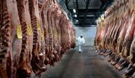 Carne: Uruguay ya tuvo problemas con algunos embarques. Foto: AFP
