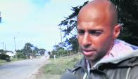 Leivas anunció en televisión local que no se venderán drogas por un día en Rocha. Foto: W. Dialutto