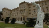 Hotel: funciona desde el año 1930 y es una postal de Piriápolis. Foto: F. Ponzetto