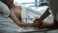La medicina frente a la muerte inminente. Foto: AFP.