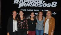 Josefina Rachetti, Mariana Arbelo, Sofía Lago, Mariana Vallarino, Eugenia Scheck.