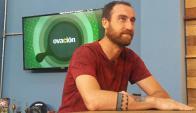 Michael Etulain visitó El País TV. Foto: @Elpaistv