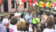 Celebración: Asociación Down y nuevos trabajadores. Foto: V. Rodríguez