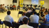 Reunión: colonos de todo el país participaron en el encuentro. Foto: Luis Pérez