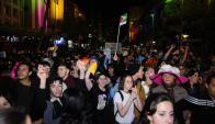 Marcha por la Diversidad 2016 en Montevideo. Foto: Marcelo Bonjour