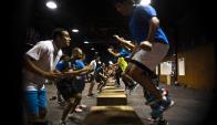 Training. La meta es que cada deportista tenga una solución según su perfil. (Foto: Fernando Ponzetto)