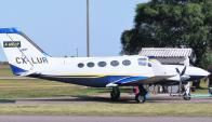 Cessna 414. Foto: aeronavesenadami.blogspot.com.uy / Martín Blanco