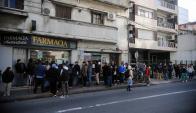 A pesar de las dificultades las farmacias siguen vendiendo cannabis al público. Foto: F. Ponzetto