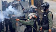 En la manifestaciones contra el régimen de Maduro han muerto al menos 125 personas. Foto: Reuters