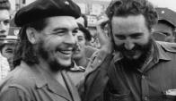 """Ernesto """"Che"""" Guevara y Fidel Castro. Foto: AFP"""