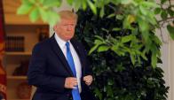 Trump busca sacar a su familia del foco de la investigación por la trama rusa. Foto: Reuters