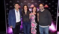 Daniel Rama, Verónica Perrotta, Lucía Gaviglio, Nestor Guzzini.