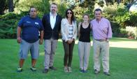 Gilberto Silveira, Neil Morrison, María de la Peña, Gaia Franzini, Fernando Bianco.