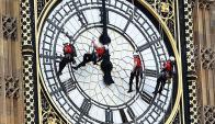 Big Ben en obras. Foto: EFE