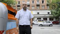 Óscar Curutchet, director de desarrollo ambiental de la IMM. Foto: Darwin Borrelli