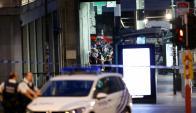 Policía evacuó y rodeó estación de tren en Bruselas. Foto: Reuters