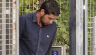 Salh El Karib, liberado ayer. Foto: AFP