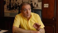 Julio César Gard furioso con el DT Tabárez