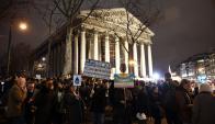 Protestas contra Trump. Foto: AFP