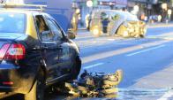 3139 personas fallecieron en los últimos 6 años por siniestros de tránsito. Foto: M. Bonjour