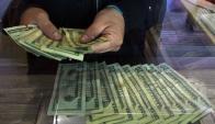 Divisa: la moneda estadounidense cerró la semana con aumento. Foto: AFP