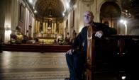 Cardenal: Sturla cree que todavía hay espacio para dialogar. Foto: F. Ponzetto