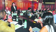 Nin Novoa explicó al Parlamento el alcance de negociaciones con China. Foto: F. Flores