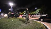 Desde el viernes, los militares controlan el centro histórico de Natal. Foto: EFE
