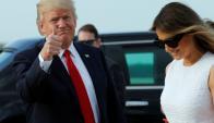 Donald Trump y su esposa Ivanka. Foto: Reuters