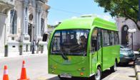 Flamantes: los buses tienen capacidad para 14 personas. Foto: Víctor Rodríguez