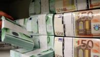Billetes de euros. Foto: Reuters