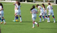Nacional se encuentra líder de la Copa de Oro. Foto: Facebook Nacional Femenino