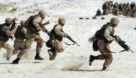 Militar. Soldado del ejército obtuvo el primer lugar.